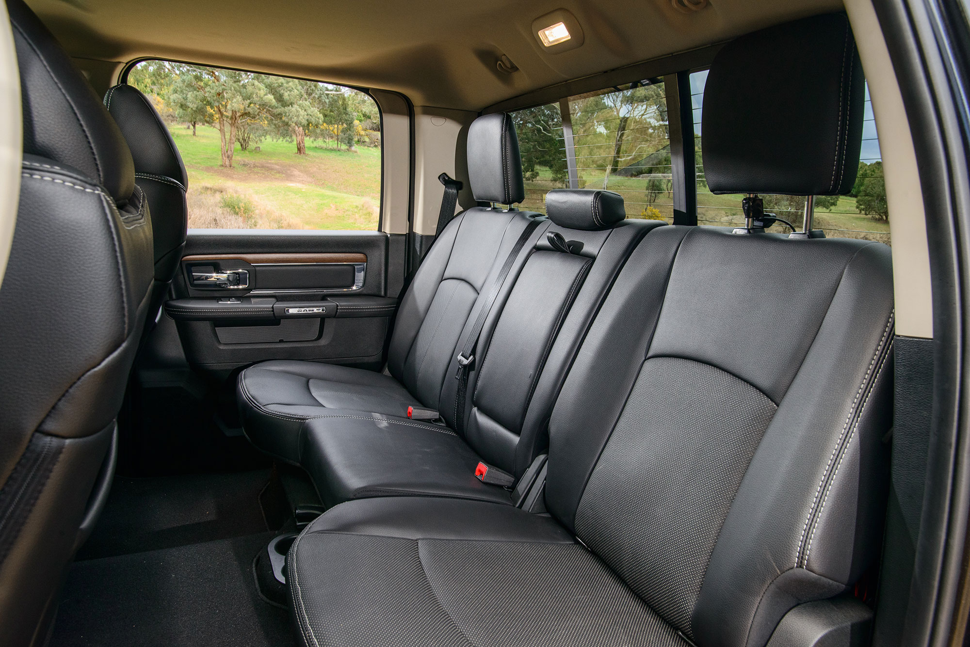 11 Where The Smaller Utes Can't Compete With The Us Trucks Like Ram, Is The Rear Seat Accommodation