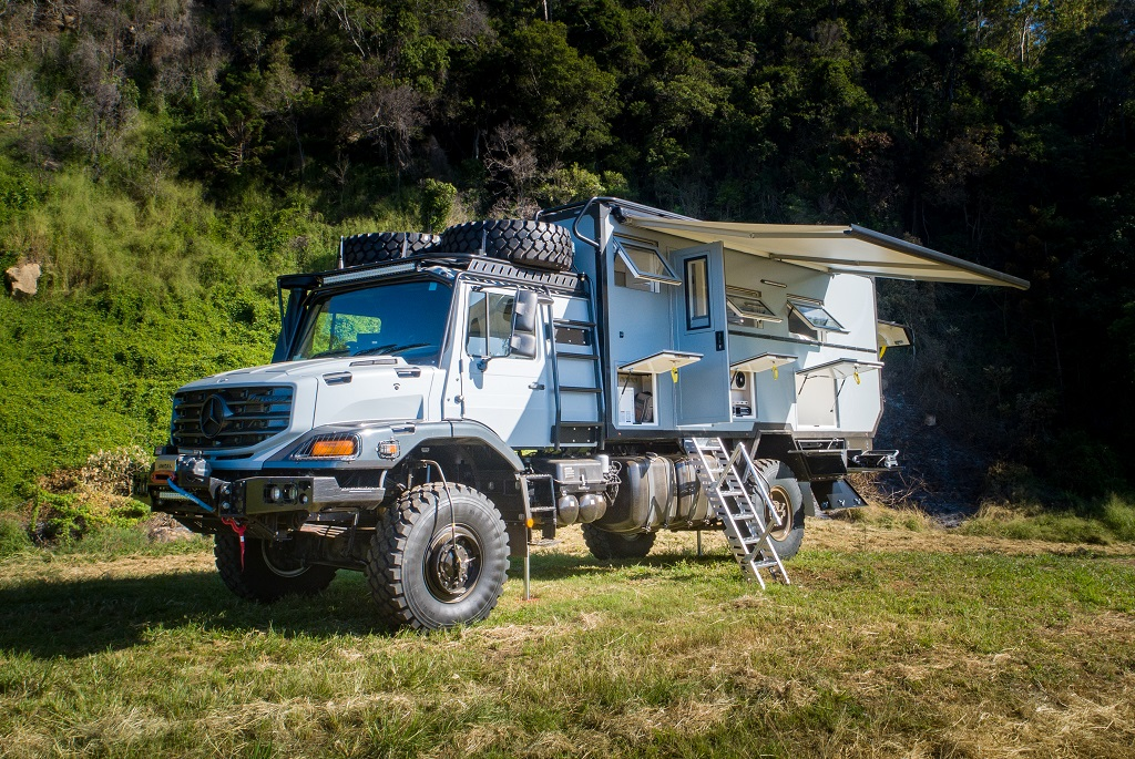 World domination in a Unidan Discovery X expedition vehicle