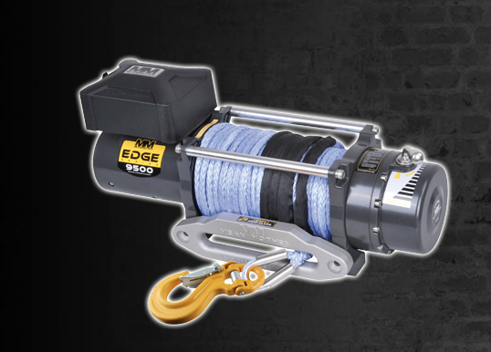 Mean Mother Edge 9500lb Synthetic Rope Winch