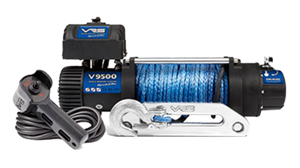 VRS 9500lb Synthetic Rope Winch