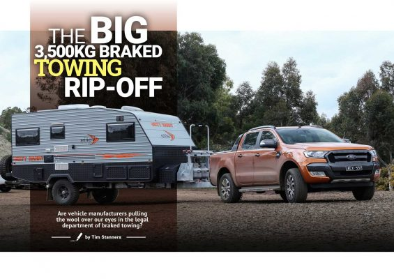 The Big 3,500kg Braked Towing Rip Off