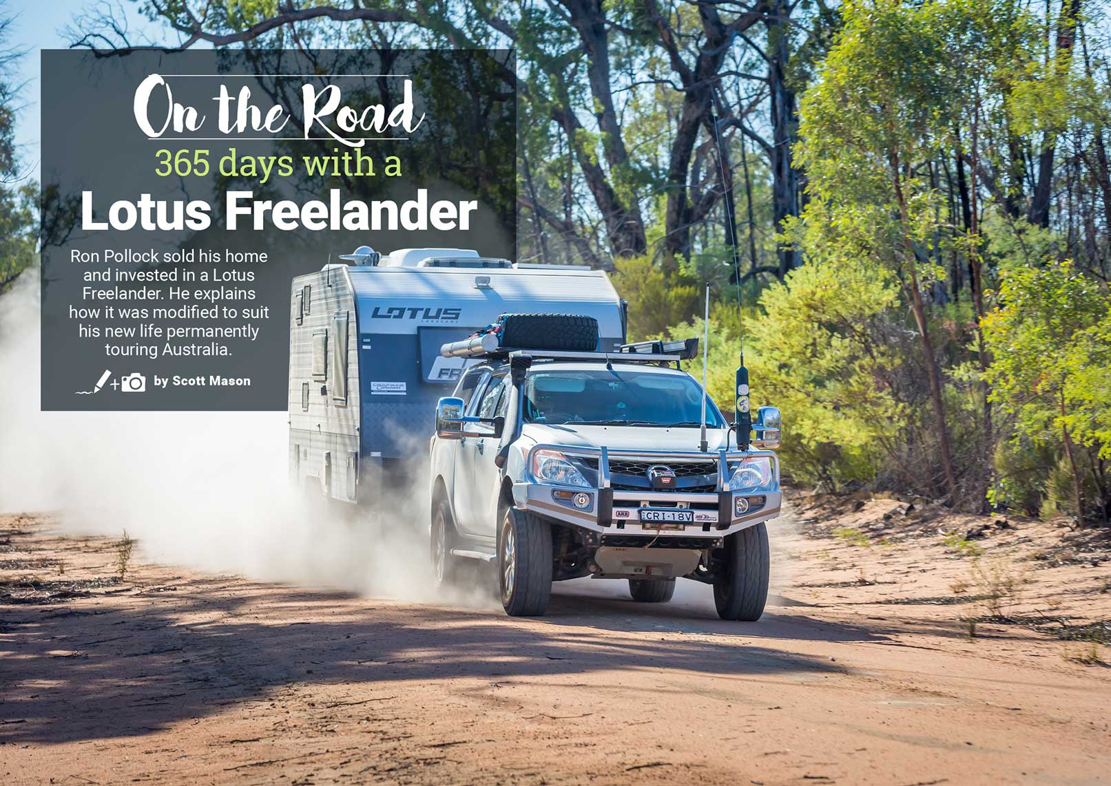 On the Road: 365 Days with a Lotus Freelander