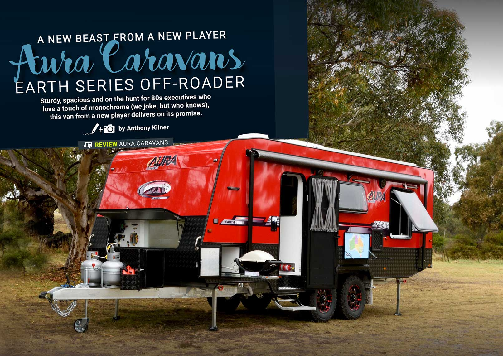 Aura Caravans Earth Series Off-Roader