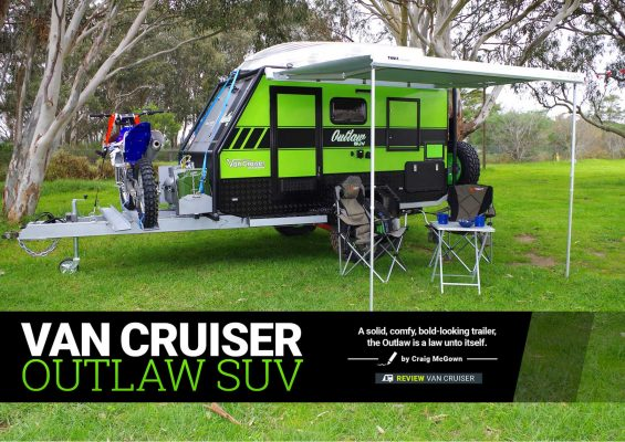 Cub's premium Longreach LE camper is big and blinged-out
