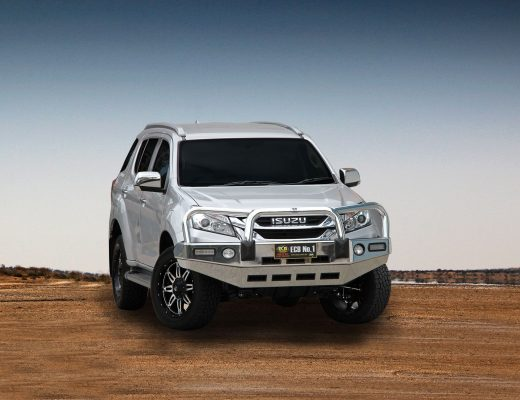 ECB Big Tube Alloy Bullbar – For Isuzu M-UX