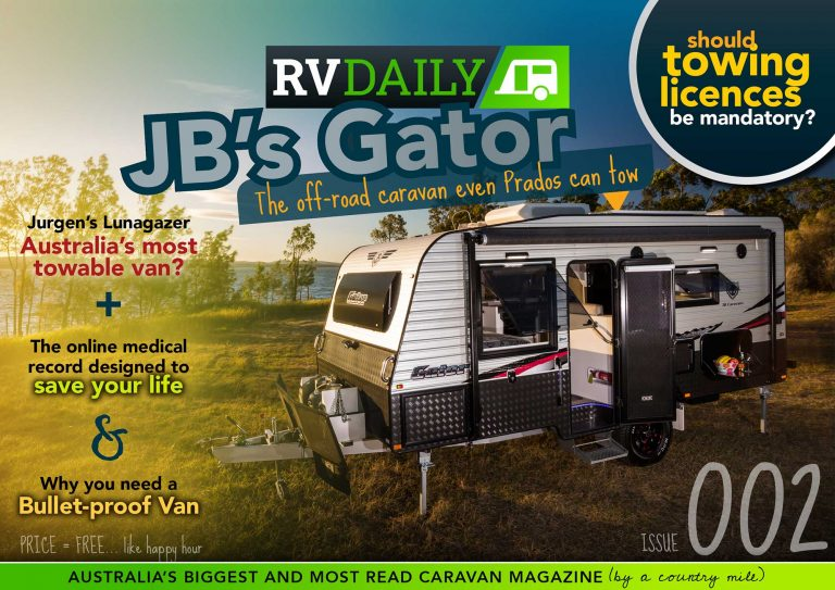 ISSUE 002 – JB's Gator, the off-road caravan even Prados can tow
