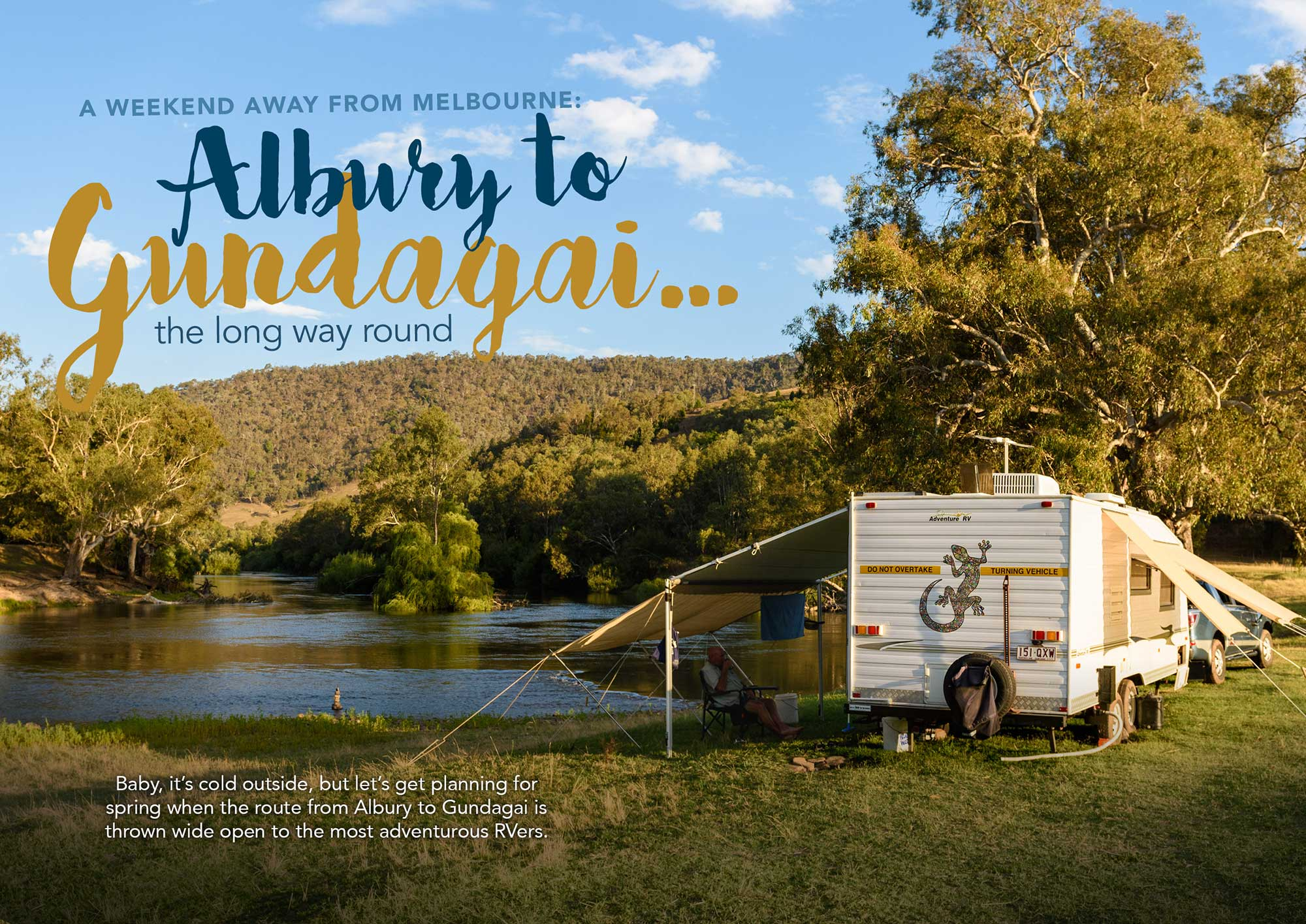 A weekend away from Melbourne: Albury to Gundagai