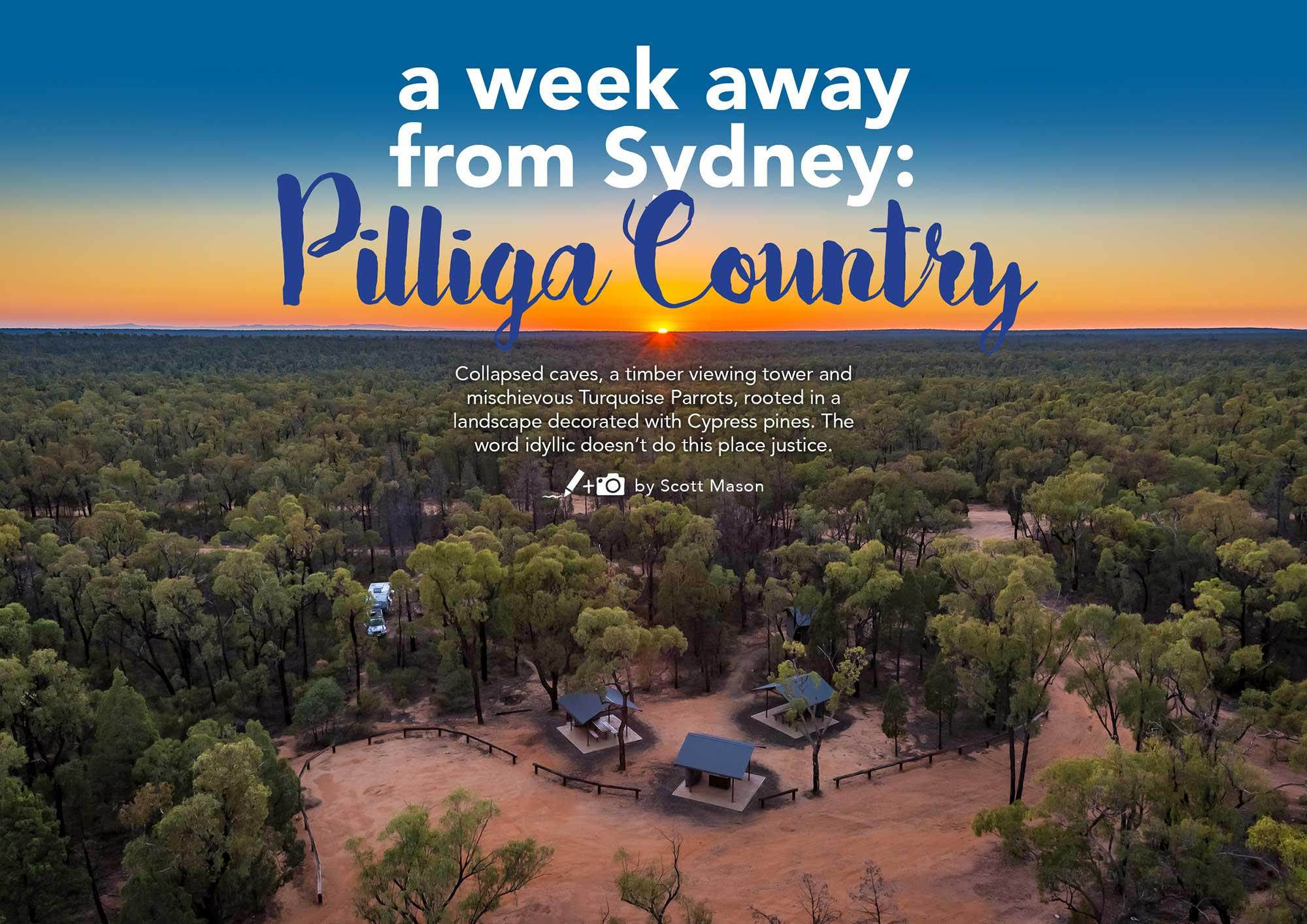A Week Away From Sydney: Pilliga Country