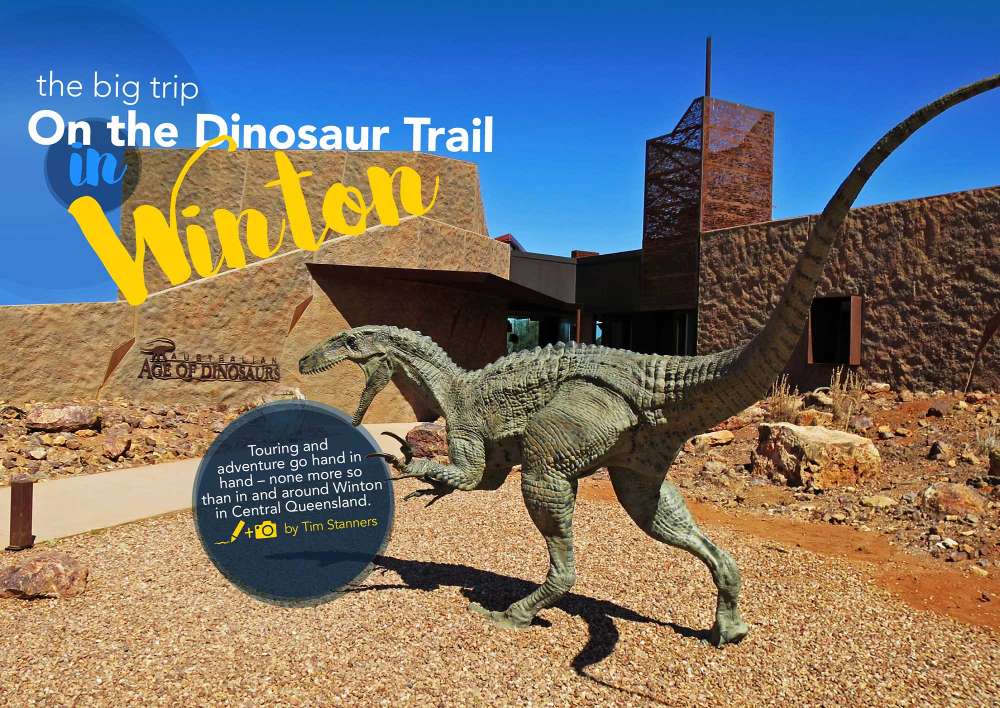 The Big Trip: On the Dinosaur Trail in Winton