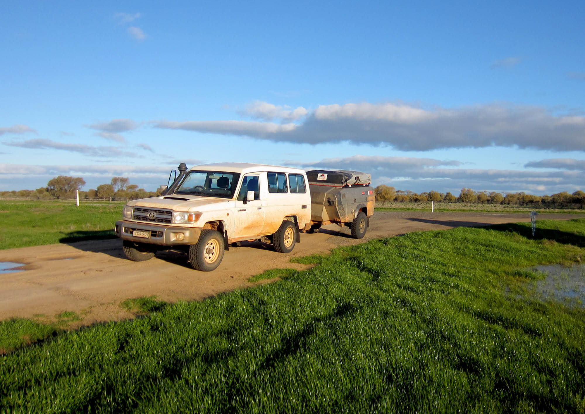 Tow Test: Toyota LandCruiser Troop Carrier