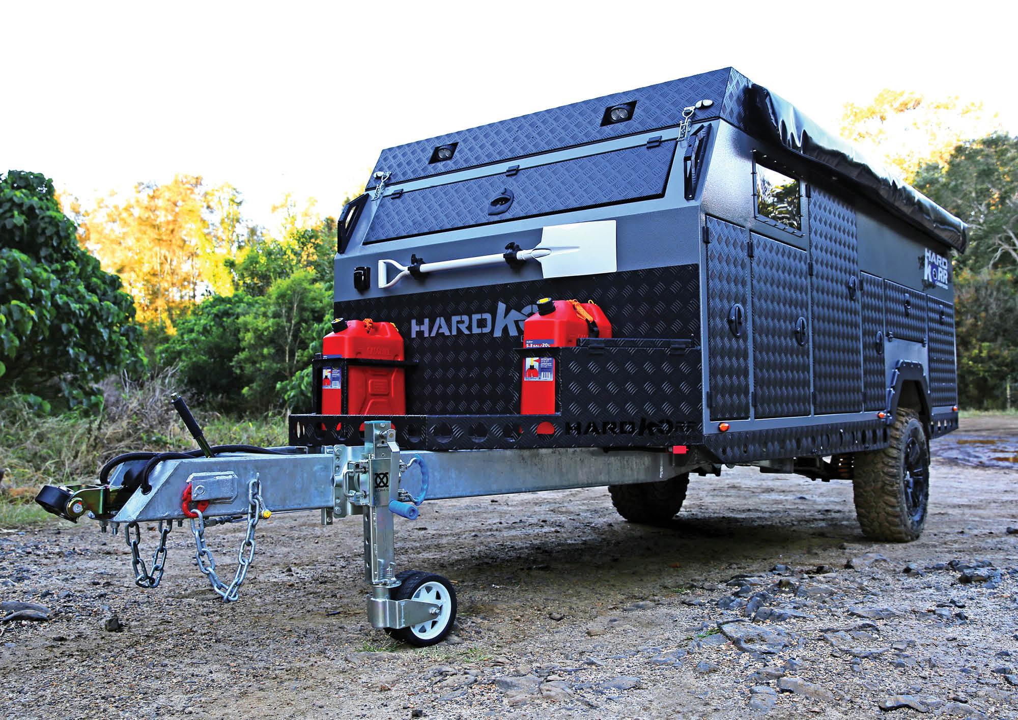Armoured Korr: HardKorr Camper Trailer