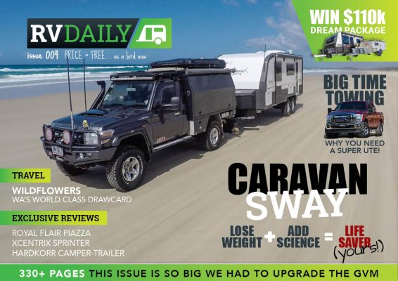ISSUE 010 – Cops take action on overweight caravans!