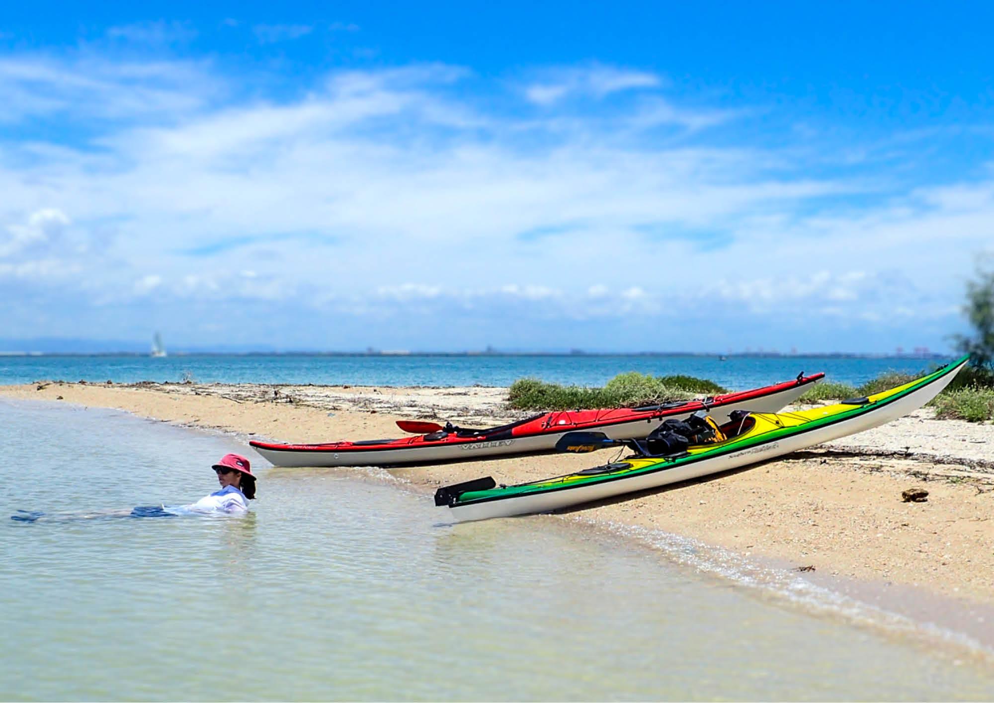 kayak in australia