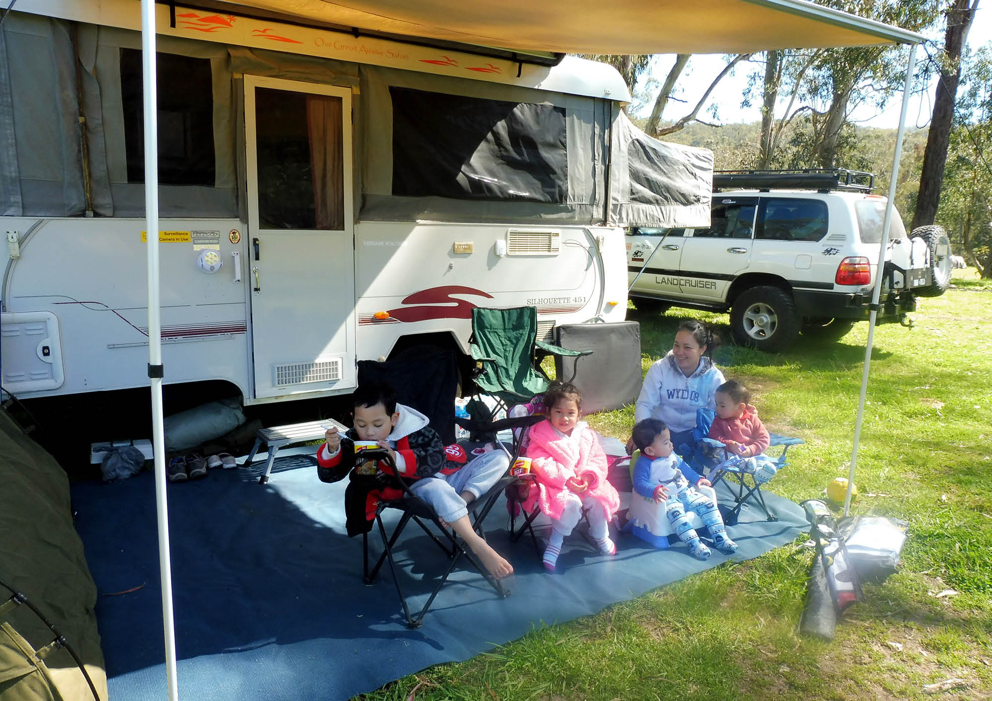 Readers' Rigs – Four kids under five