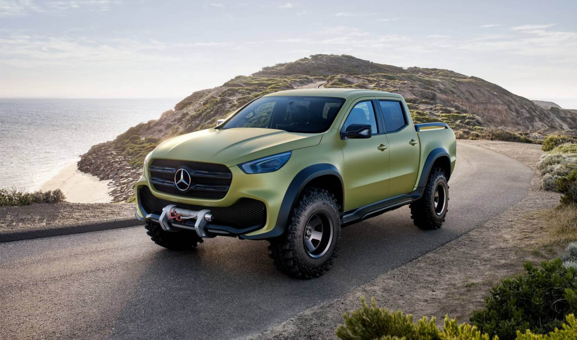 2018 MERCEDES X-CLASS MIGHT OUTPOWER AMAROK V6 - RV DAILY