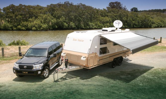 A lightweight family van you can easily tow with your sedan
