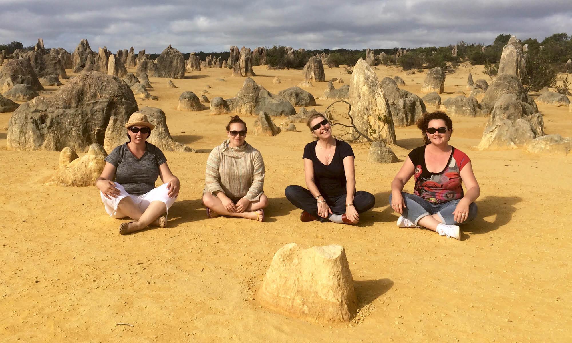 Why these four women did a nudie run through the Pinnacles