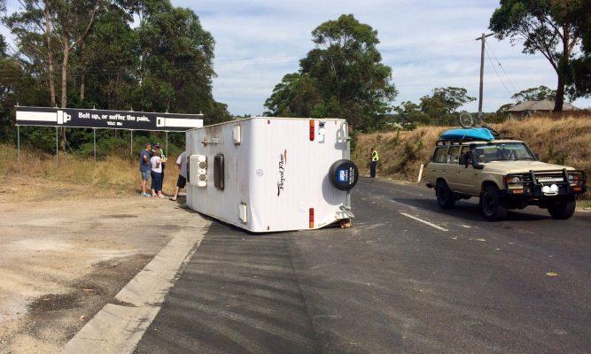 How to avoid caravan sway. Again!