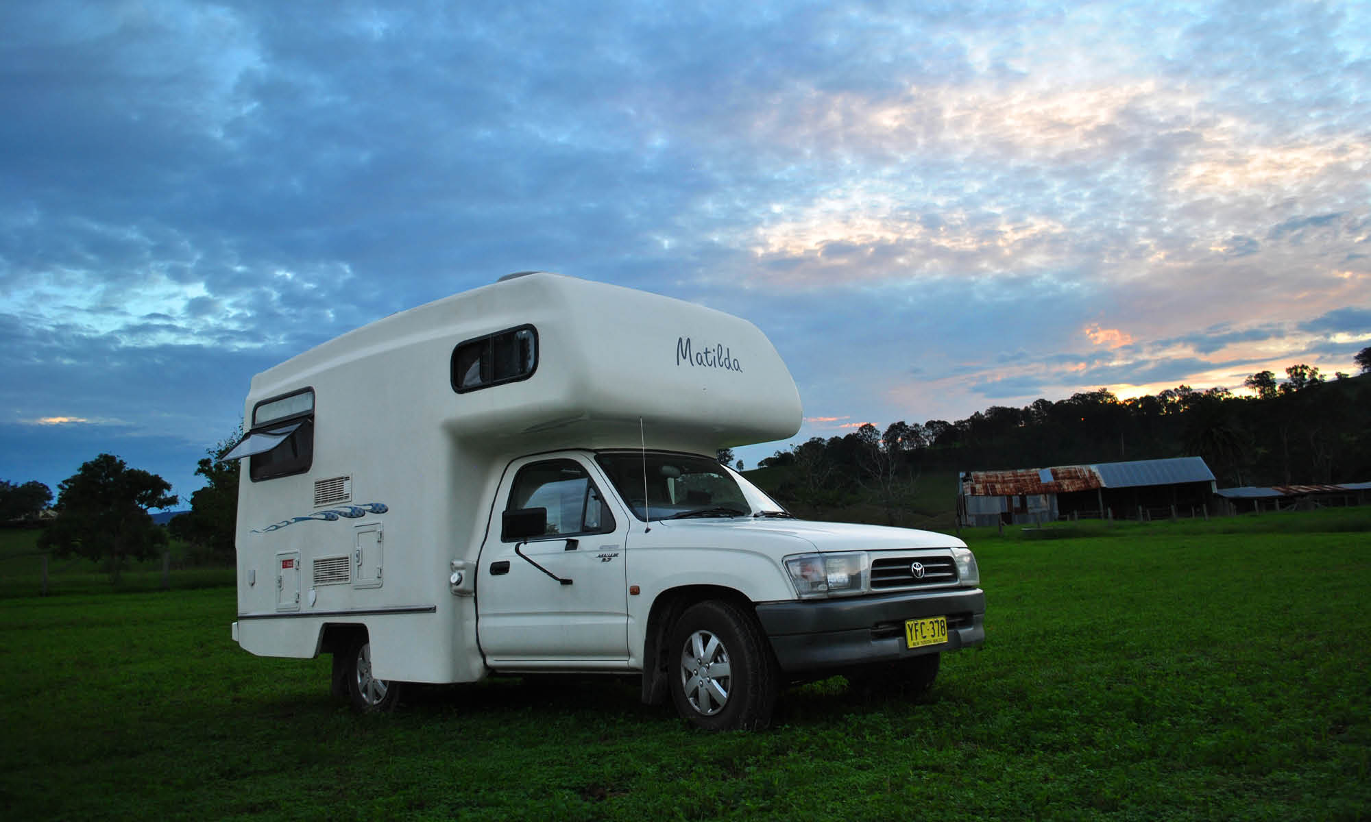 THE OCCASIONAL RV TOURIST OR 10 THINGS I LEARNT ABOUT MOTORHOMES