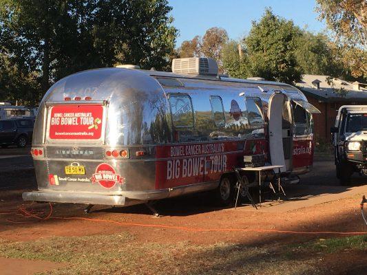 Bowel Cancer Australia's Big Bowel Tour