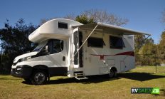 The occasional RV tourist hires a motorhome
