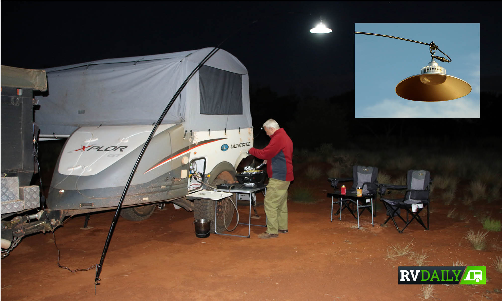 ILLUMINATE YOUR ENTIRE CAMPING WITH JUST ONE LIGHT