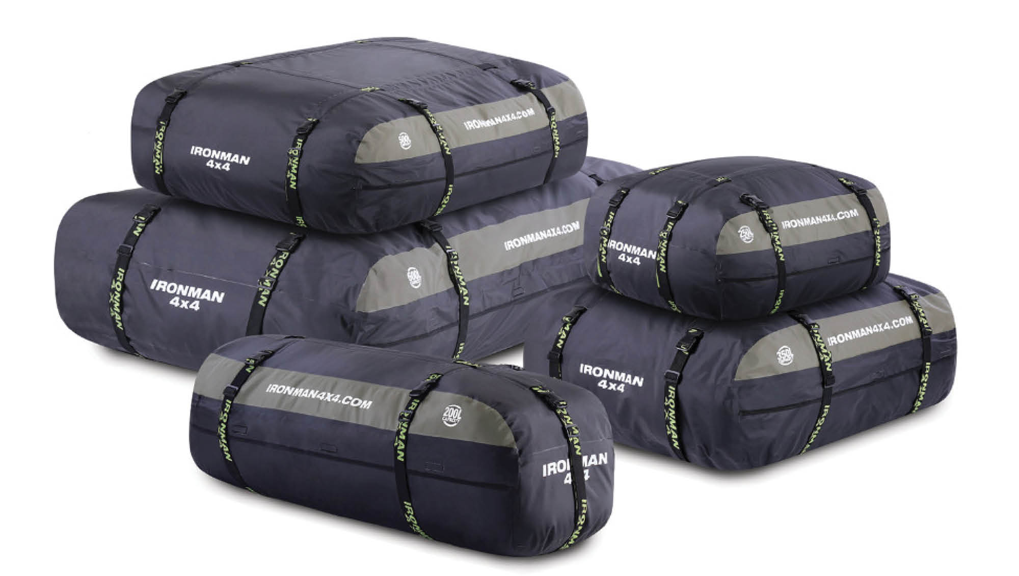 Ironman 4X4 Rooftop Cargo Storage Bags