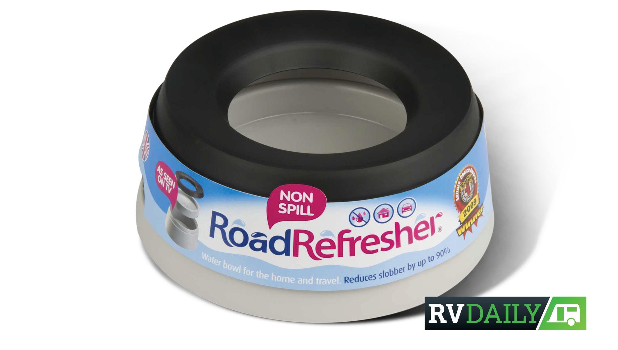 Prestige Road Refresher Non-Spill Travel Water Bowl