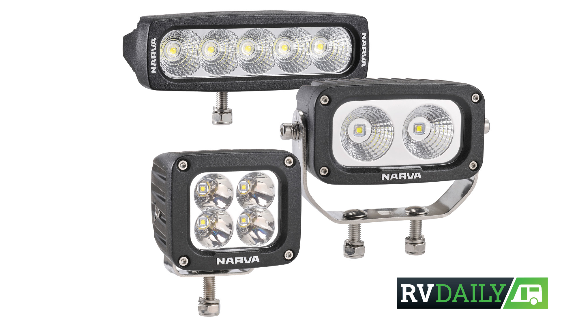 NARVA 4X4 HIGH-POWERED LED WORK LAMPS