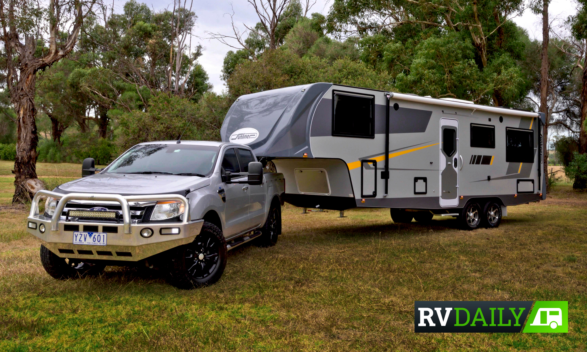 Sunliner RV ditches the engine with its fifth-wheeler launch