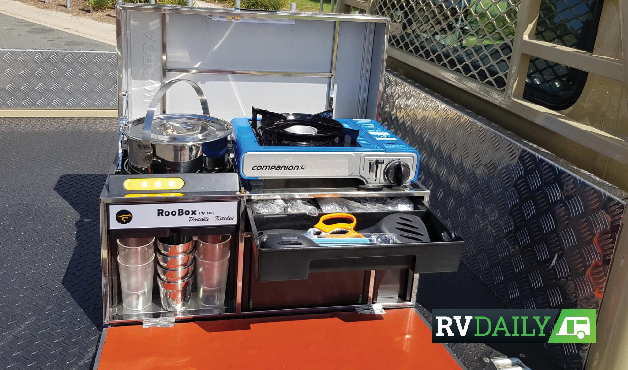Kookabox Compact Portable Kitchen