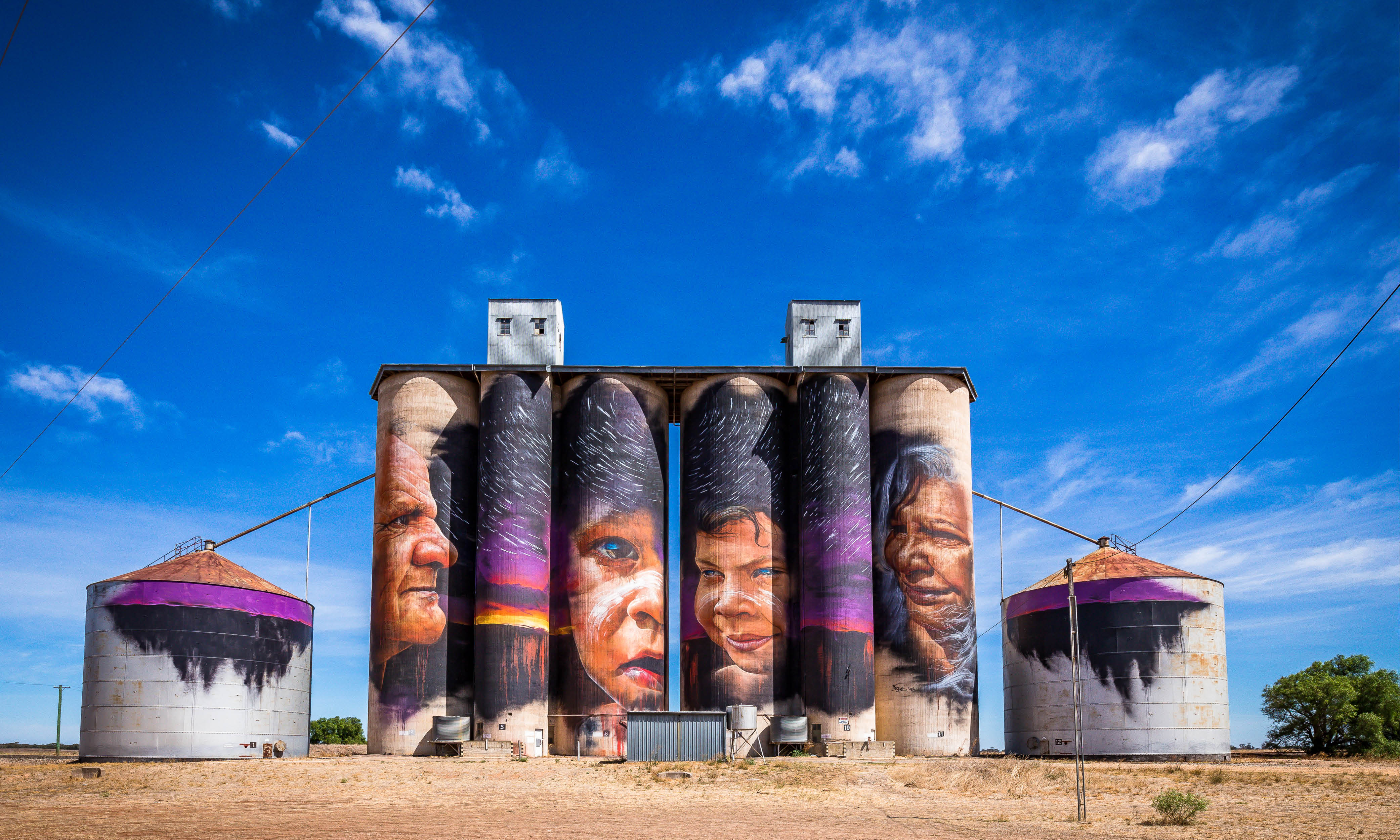 Have you heard? Silo art is all the rage