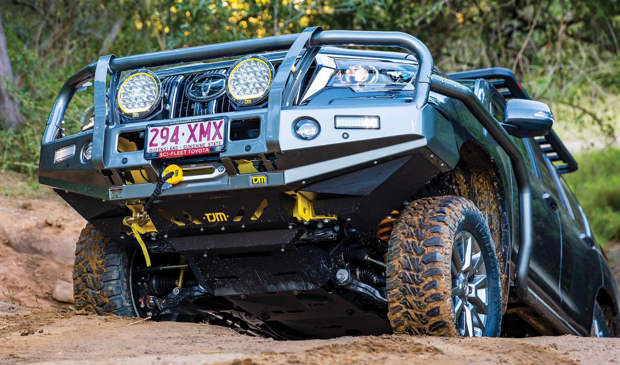 TJM Outback Bar to suit the 2018+ Toyota Prado