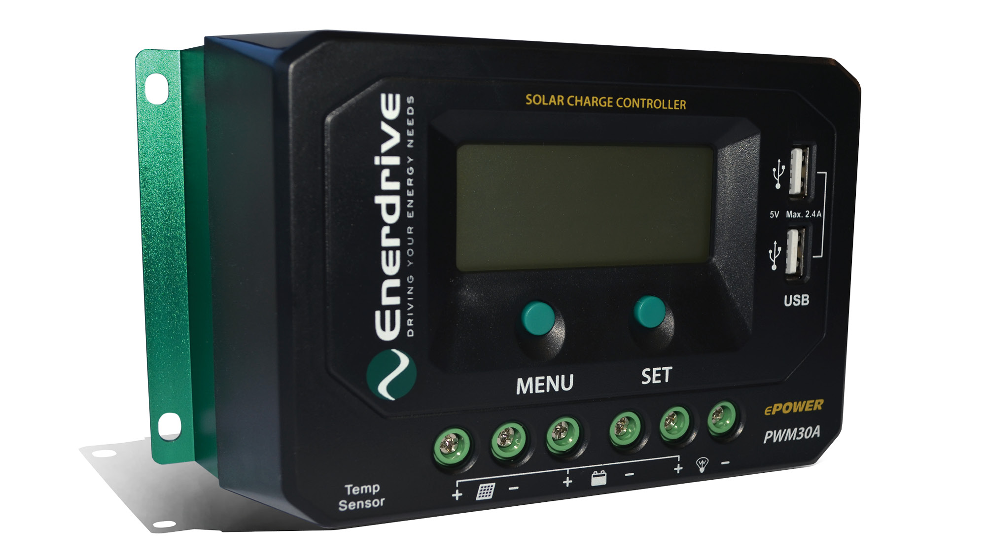 Overcharging can reduce the life of your solar battery – the Enerdrive ePower PWM Solar Charge Controller