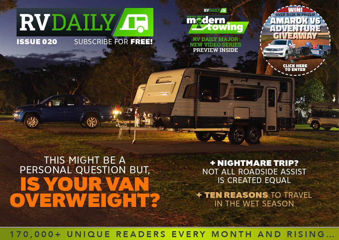 ISSUE 020 – This might be a personal questions but, is your van overweight?