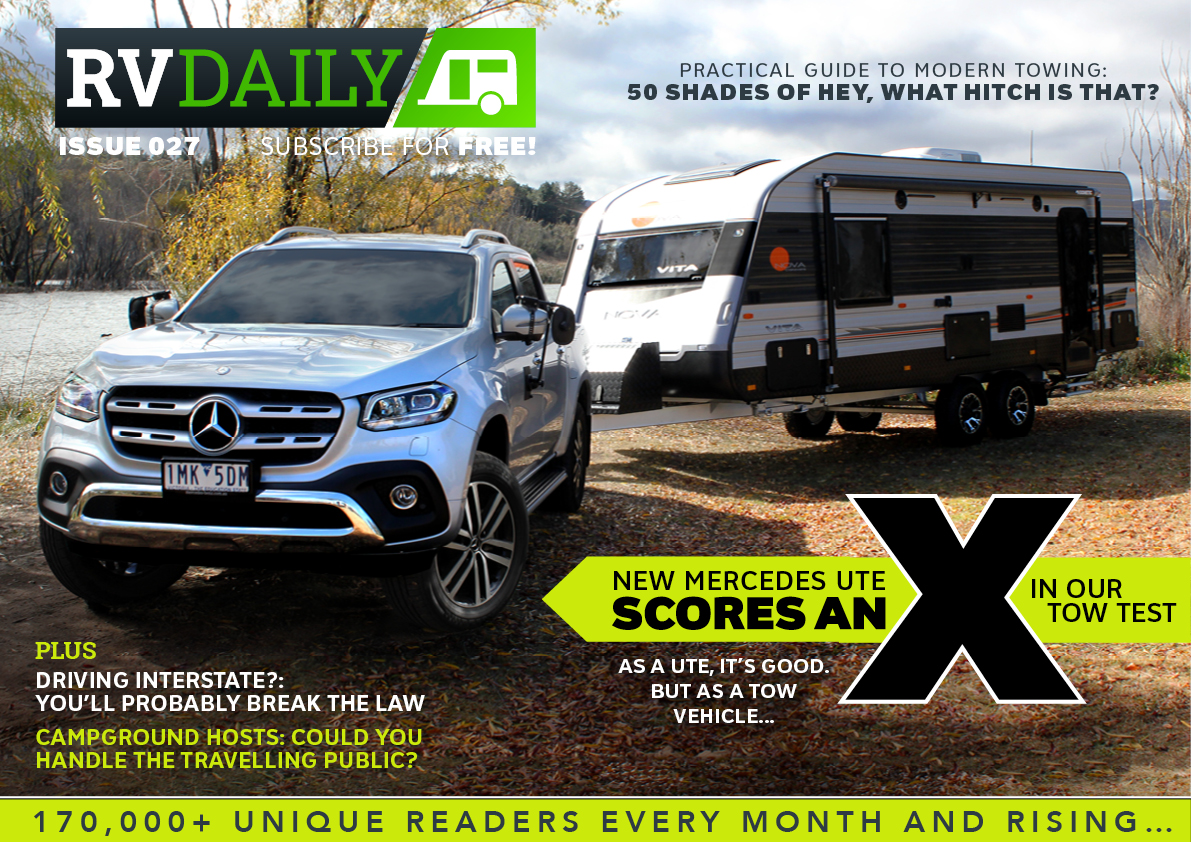 ISSUE 027 – New Mercedes ute scores an X in our tow test