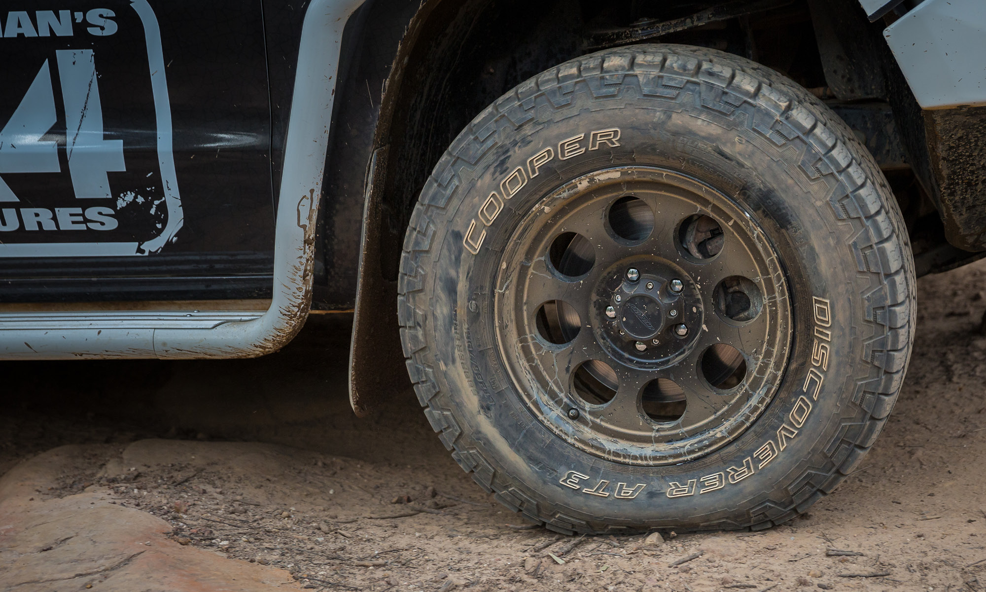 Tarmac, mud, dirt and rock. These tyres can handle it all