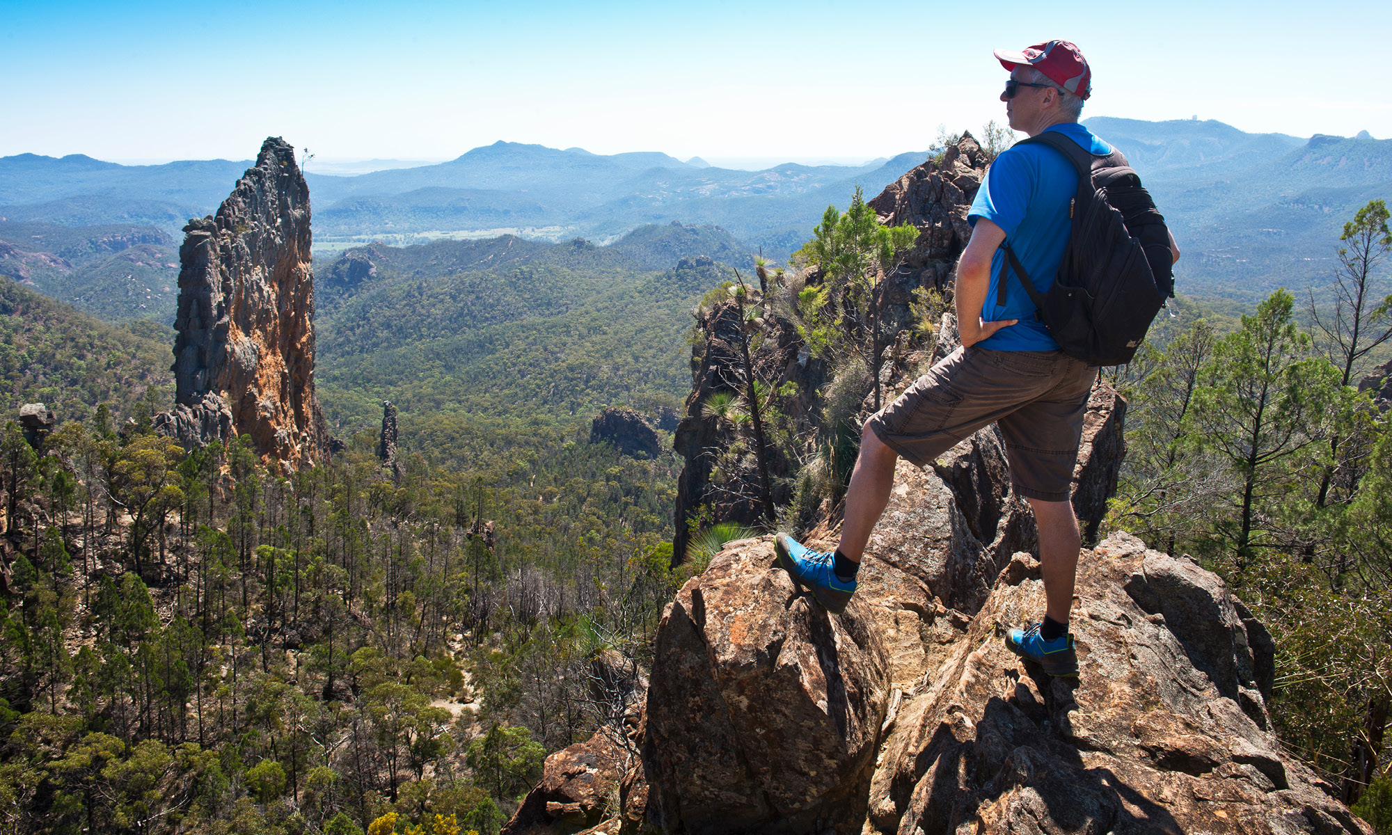 The hottest spots in western NSW for volcano hunters