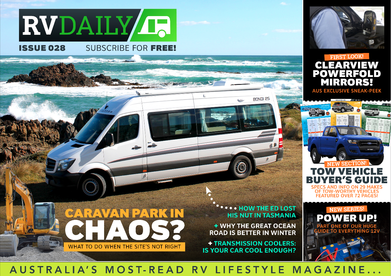 ISSUE 028 – Caravan parks in chaos?