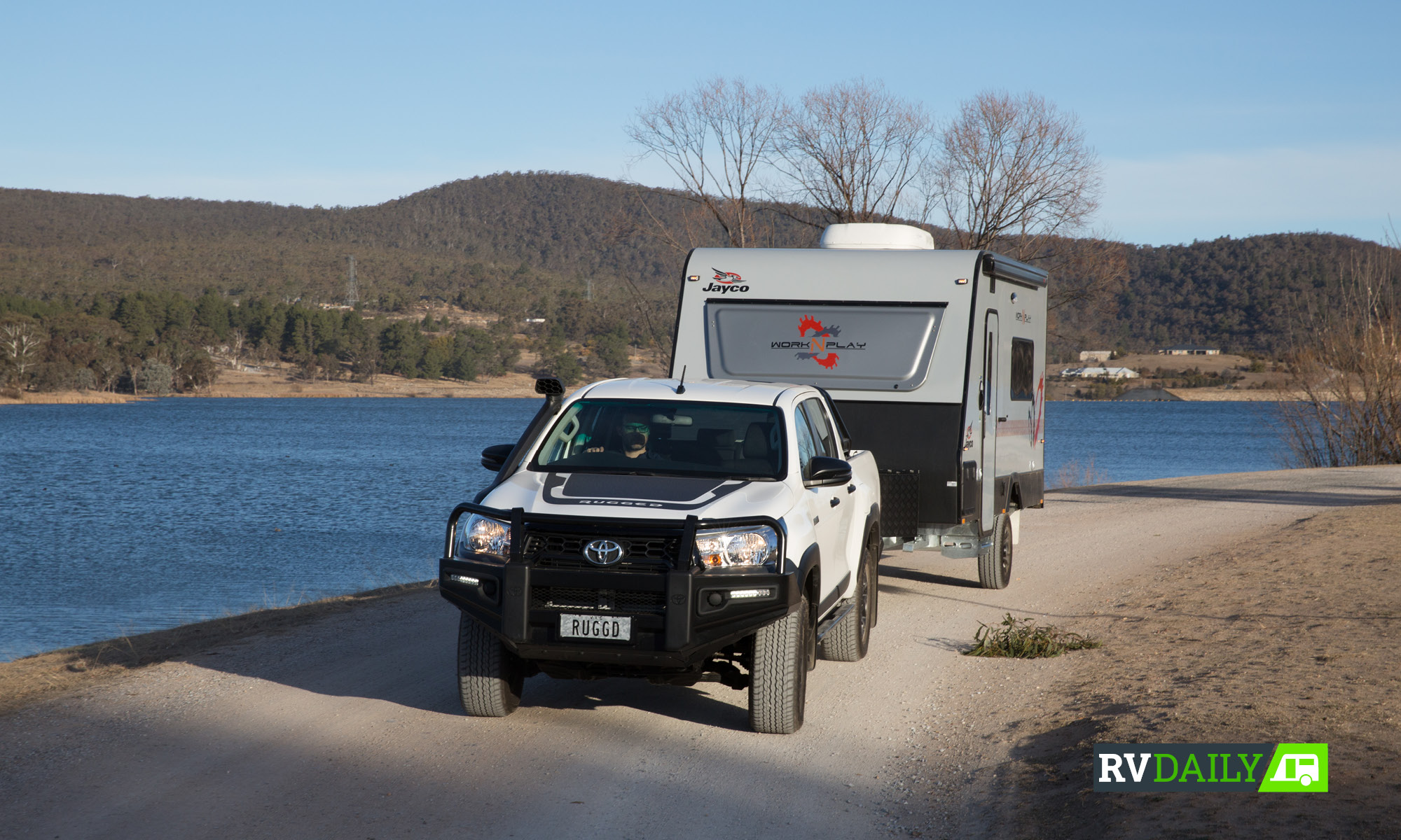 We put Australia's best-selling 4WD to  the (tow) test