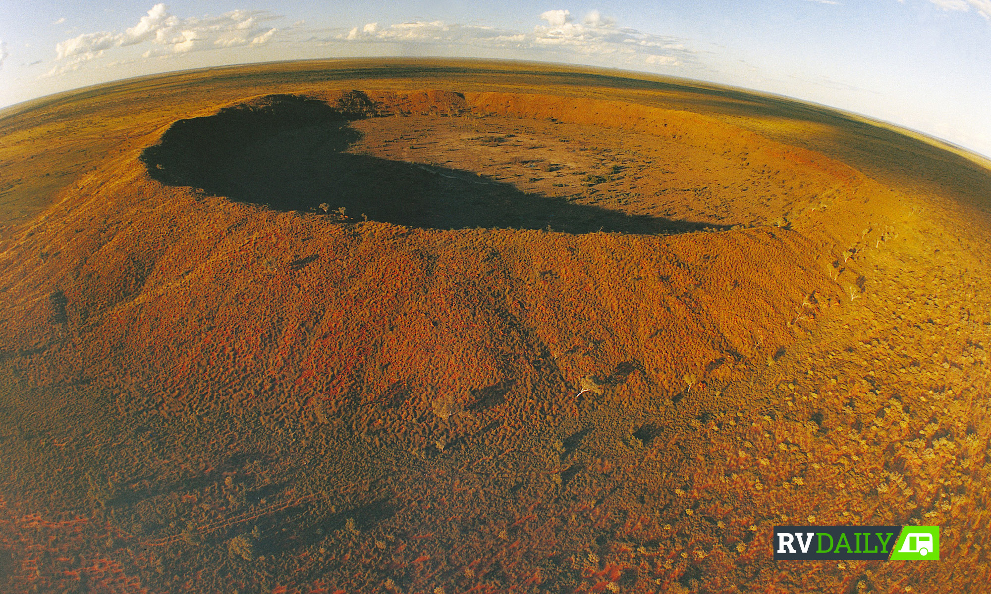 Five Australian meteorite craters you can actually visit