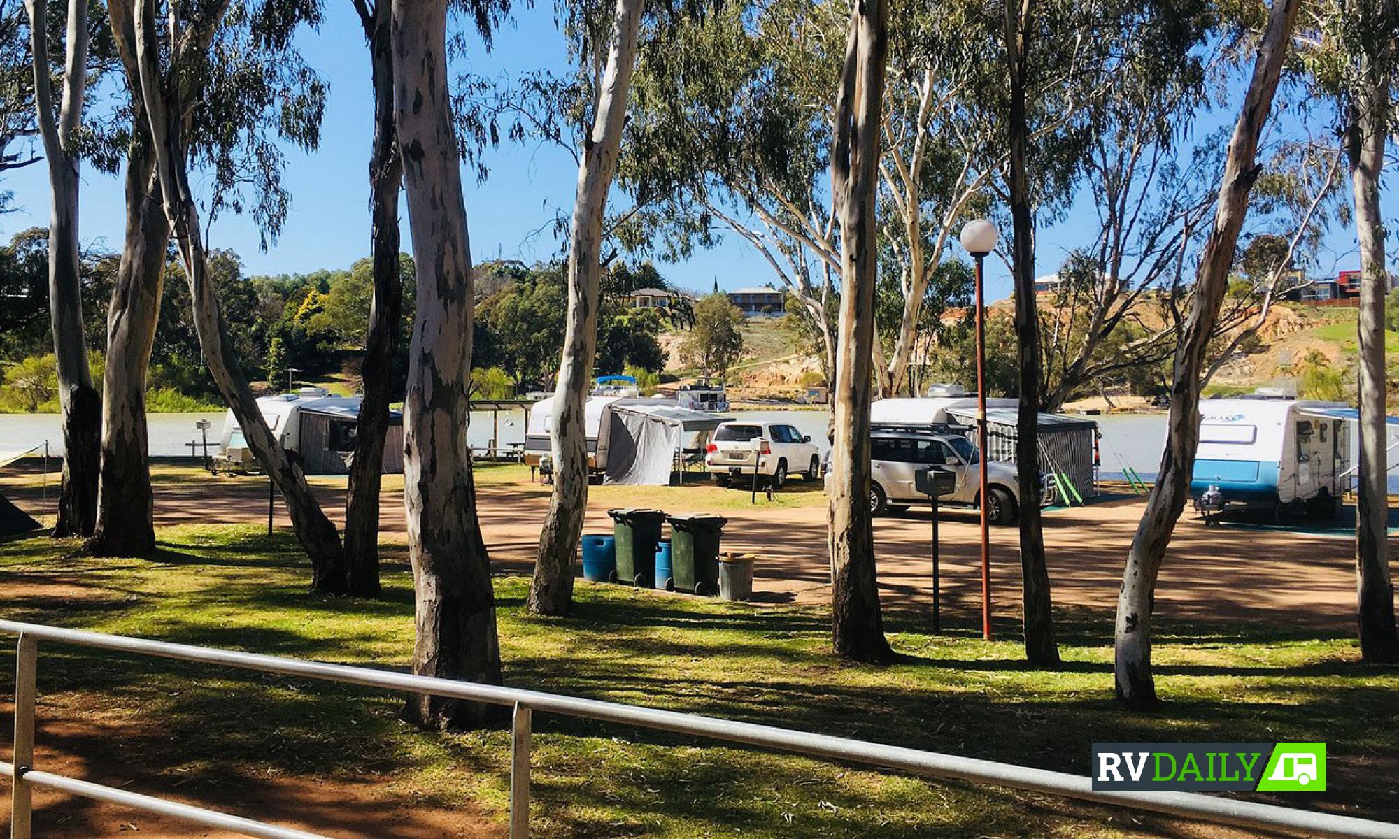 pet friendly River Bend caravan park