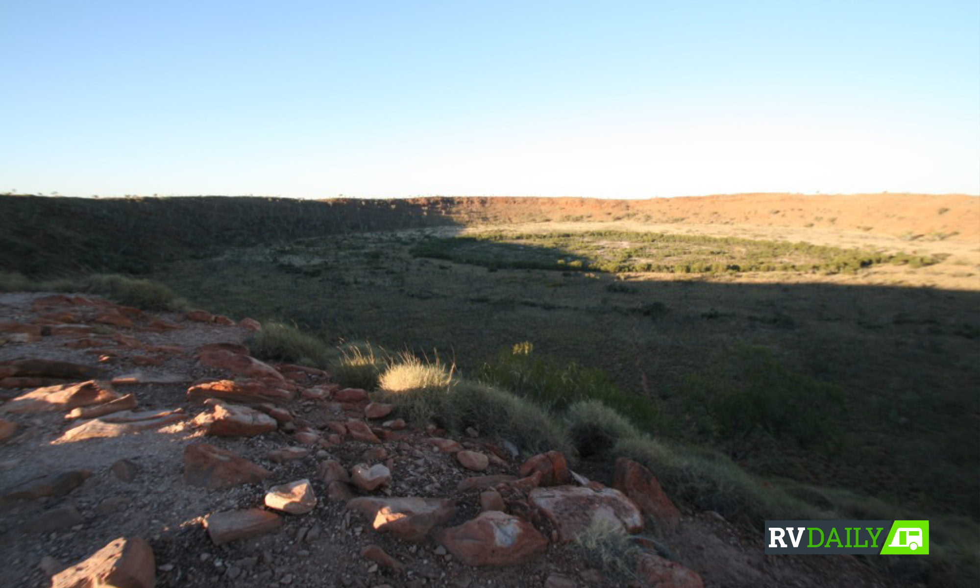 Wolfe Creek Crater in the Tanami road