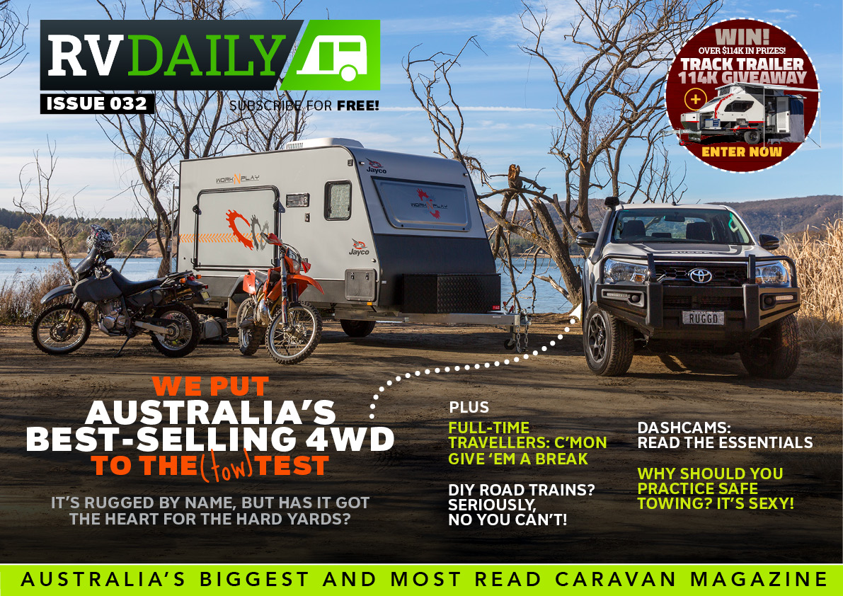 ISSUE 032 – We put Australia's best-selling 4WD to the (tow) test