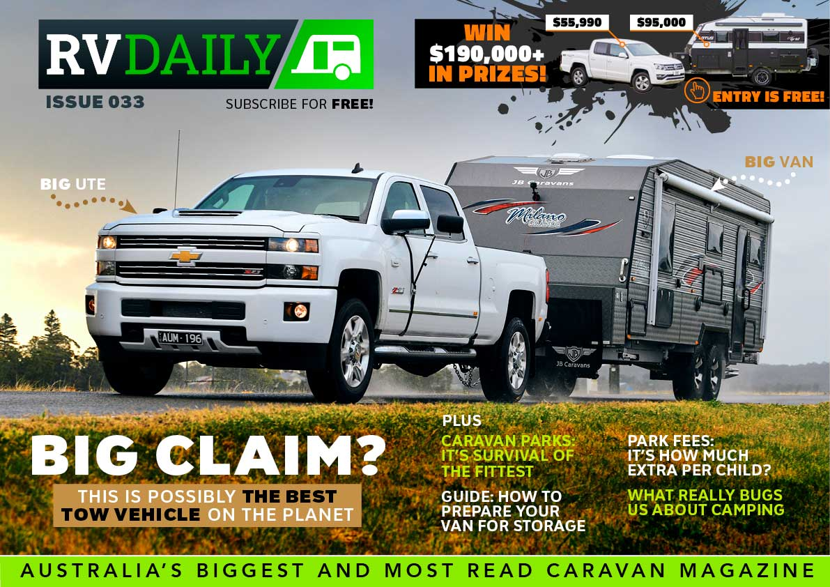 ISSUE 033 – This is possibly the best tow vehicle on the planet