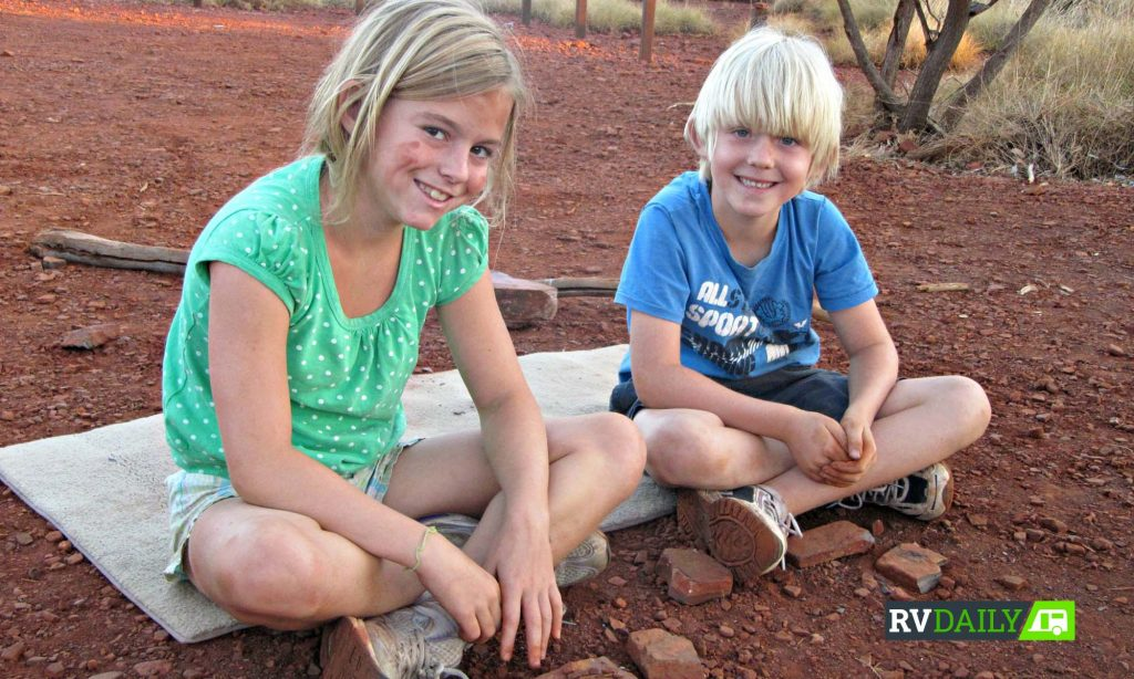 travelling Australia with kids
