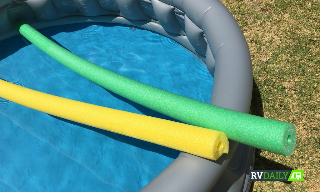 The humble pool noodle