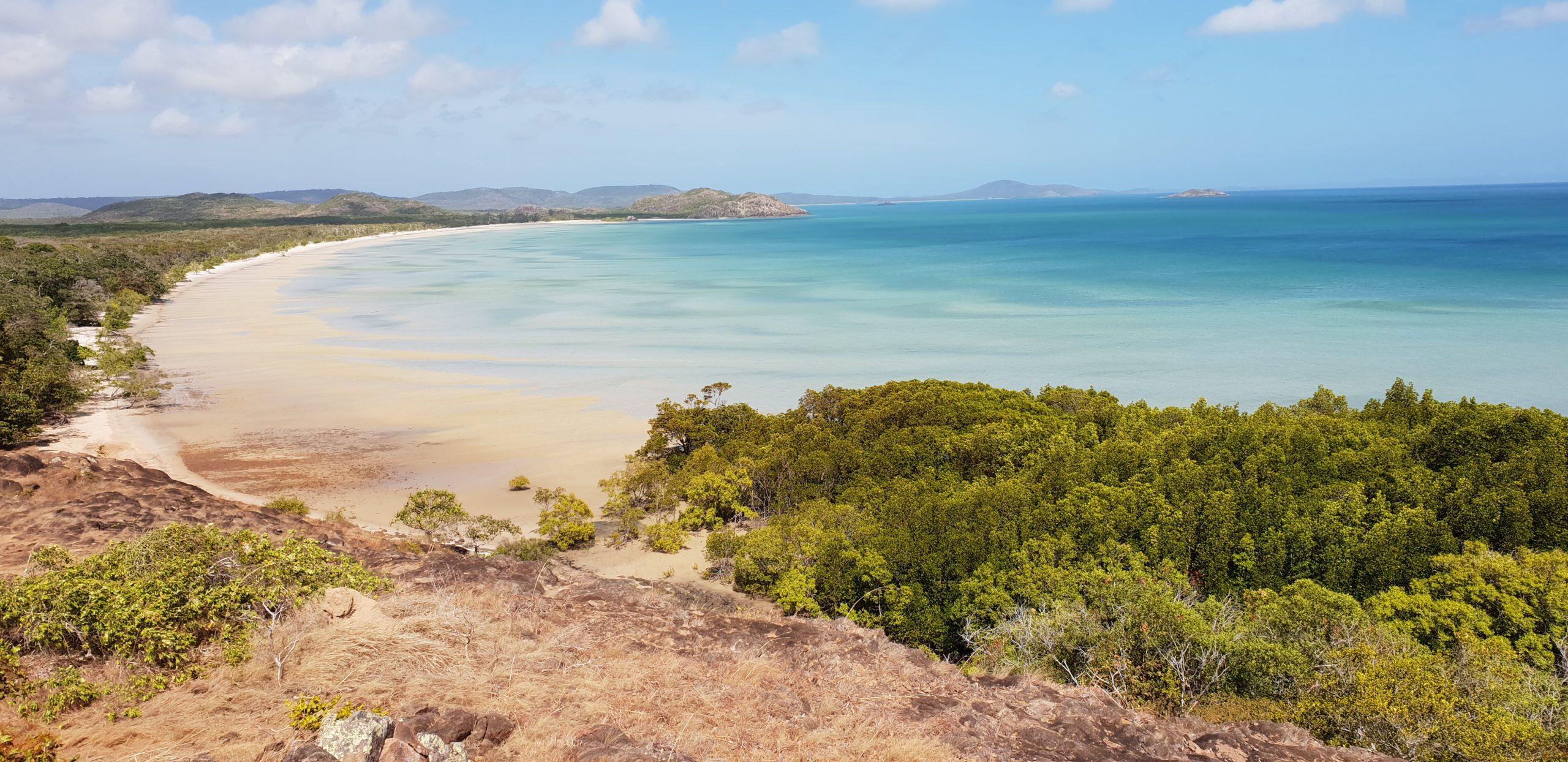 Cape York Tip - view of Frangipani Beach