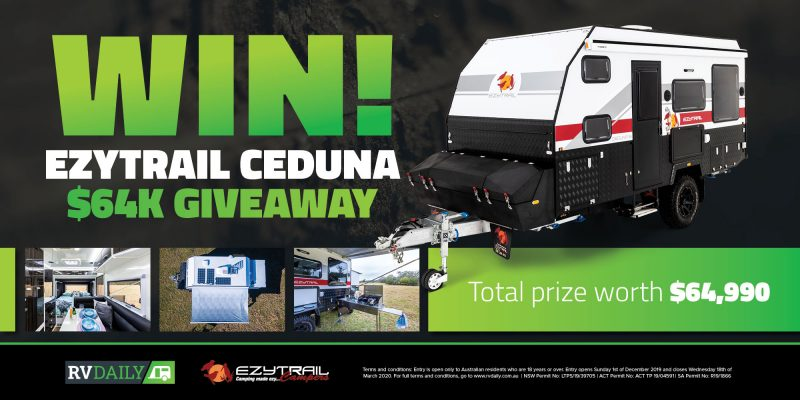 Enter the $64K Ezytrail Ceduna Giveaway