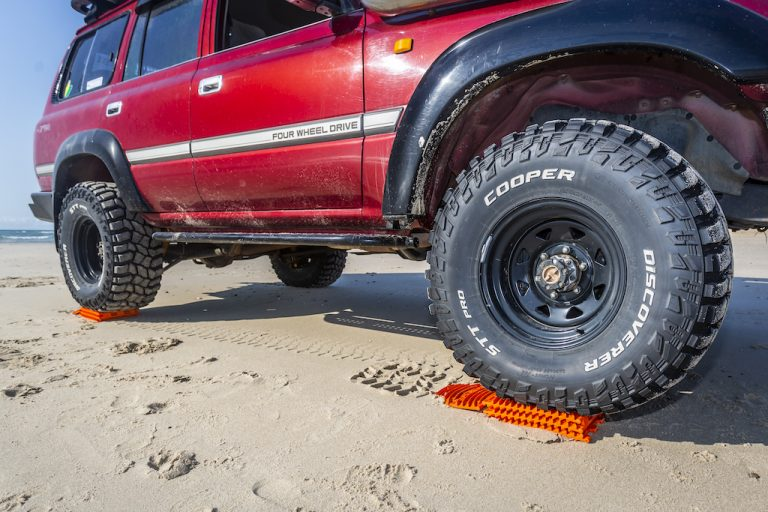 A levelling device and traction aid in one? You beauty!